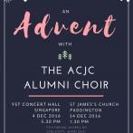 Advent with the ACJC Alumni Choir 2016