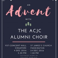 Advent with the ACJC Alumni Choir 2016